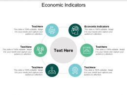 Economic Indicators Ppt Powerpoint Presentation Infographic Template Maker Cpb