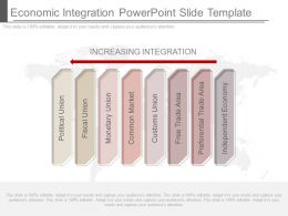 Economic Integration Powerpoint Slide Template
