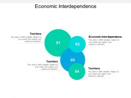 Economic Interdependence Ppt Powerpoint Presentation Outline Smartart Cpb