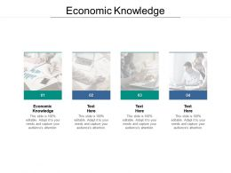 Economic Knowledge Ppt Powerpoint Presentation Summary Master Slide Cpb
