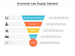 Economic Law Supply Demand Ppt Powerpoint Presentation Icon Visuals Cpb