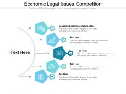 Economic Legal Issues Competition Ppt Powerpoint Presentation Infographics Clipart Cpb