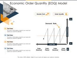 Economic Order Quantity EOQ Model Supply Chain Inventory Optimization Ppt Layouts Styles