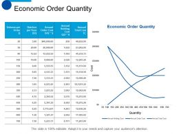 Economic Order Quantity Marketing Planning Ppt Summary Designs Download