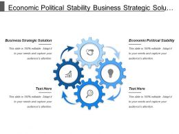 Economic Political Stability Business Strategic Solution Geographic Proximity