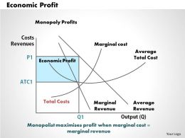 Economic Profit Powerpoint Presentation Slide Template