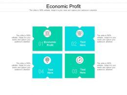 Economic Profit Ppt Powerpoint Presentation Icon Graphics Download Cpb