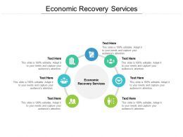 Economic Recovery Services Ppt Powerpoint Presentation Inspiration Background Cpb