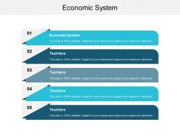 Economic System Ppt Powerpoint Presentation File Icons Cpb