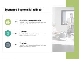 Economic Systems Mind Map Ppt Powerpoint Presentation Icon Master Slide Cpb