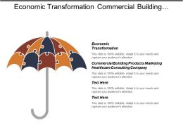 Economic Transformation Commercial Building Products Marketing Healthcare Consulting Company Cpb