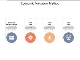 Economic Valuation Method Ppt Powerpoint Presentation Template Cpb