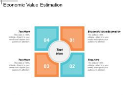 Economic Value Estimation Ppt Powerpoint Presentation Gallery Example Cpb
