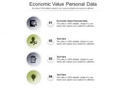 Economic Value Personal Data Ppt Powerpoint Presentation Infographic Template Inspiration Cpb