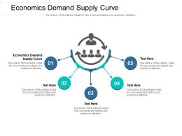 Economics Demand Supply Curve Ppt Powerpoint Presentation Pictures Example Cpb