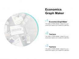 Economics Graph Maker Ppt Powerpoint Presentation Gallery Visuals Cpb