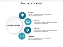 Economics Statistics Ppt Powerpoint Presentation Pictures Design Ideas Cpb