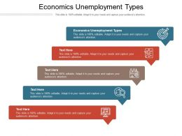 Economics Unemployment Types Ppt Powerpoint Presentation Professional Template Cpb