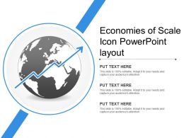 Economies Of Scale Icon Powerpoint Layout