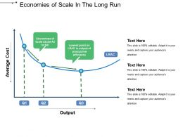 Economies Of Scale In The Long Run