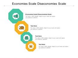 Economies Scale Diseconomies Scale Ppt Powerpoint Presentation Portfolio Icon Cpb