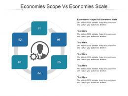 Economies Scope Vs Economies Scale Ppt Powerpoint Presentation Slides Model Cpb