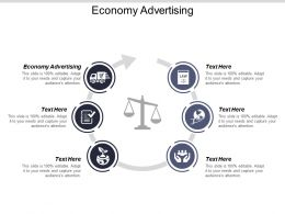 Economy Advertising Ppt Powerpoint Presentation Gallery Gridlines Cpb