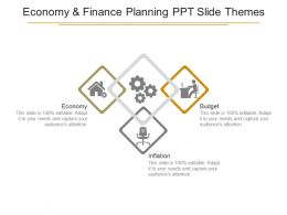 Economy And Finance Planning Ppt Slide Themes