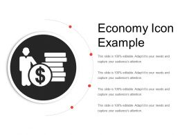 Economy Icon Example Ppt Slide Themes
