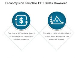 Economy Icon Template Ppt Slides Download