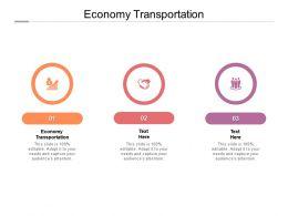 Economy Transportation Ppt Powerpoint Presentation Show File Formats Cpb
