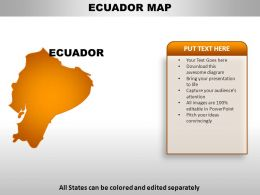Ecuador Country Powerpoint Maps