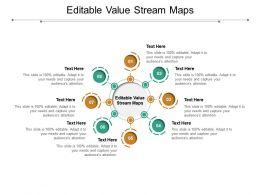 Editable Value Stream Maps Ppt Powerpoint Presentation Model Templates Cpb