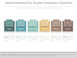 Editorial Marketing Plan Template Presentation Powerpoint