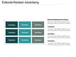 Editorial Related Advertising Ppt Powerpoint Presentation Gallery Inspiration Cpb