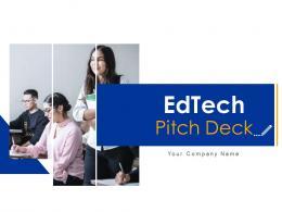 EdTech Pitch Deck Ppt Template