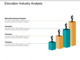 Education Industry Analysis Ppt Powerpoint Presentation Inspiration Visuals Cpb