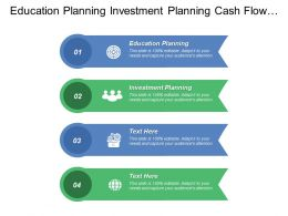 Education Planning Investment Planning Cash Flow Management Tax Planning