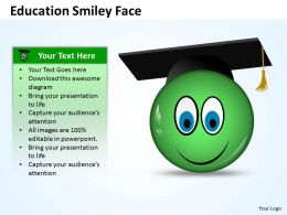 Education smiley face 3