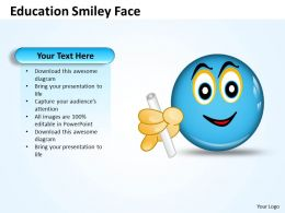 Education Smiley Face 4