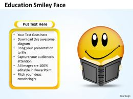 Education smiley face 5