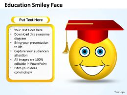 education smiley face