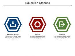 Education Startups Ppt Powerpoint Presentation Portfolio Themes Cpb