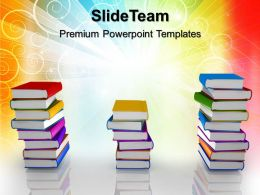Education Templates For Powerpoint Books Ppt Themes