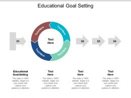 Educational Goal Setting Ppt Powerpoint Presentation Styles Aids Cpb