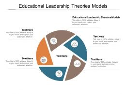 Educational Leadership Theories Models Ppt Powerpoint Presentation Professional Topics Cpb