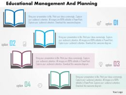 Educational Management And Planning Flat Powerpoint Design