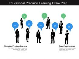 Educational Precision Learning Exam Prep Discounts Trade Regulation