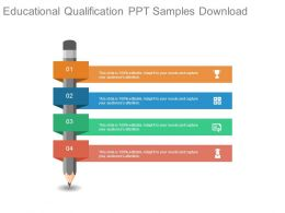Educational Qualification Ppt Samples Download