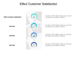 Effect Customer Satisfaction Ppt Powerpoint Presentation Portfolio Brochure Cpb